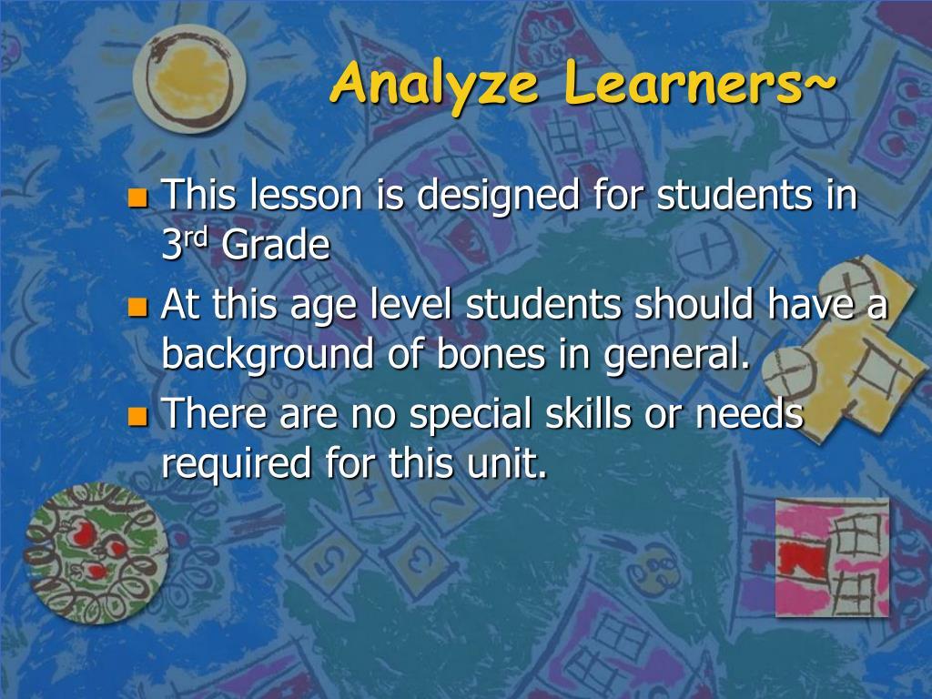 Analyze Learners~