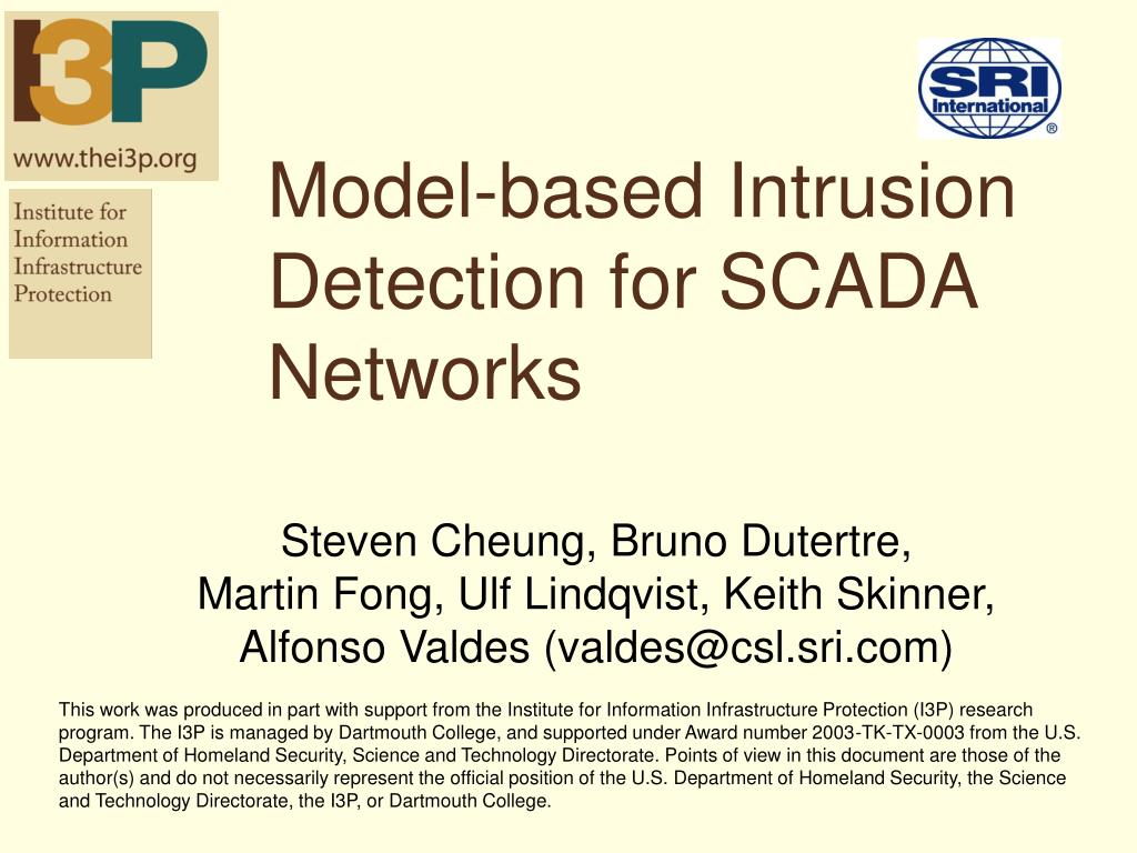 Scada phd thesis