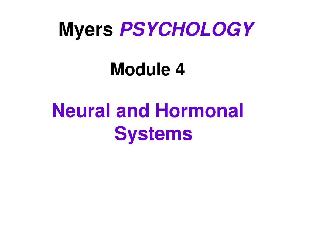 myers psychology l.