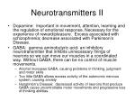 neurotransmitters ii