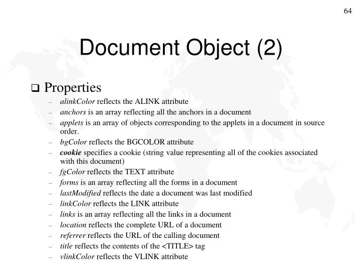 Document Object (2)