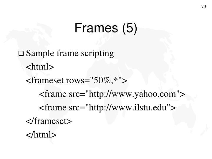 Frames (5)