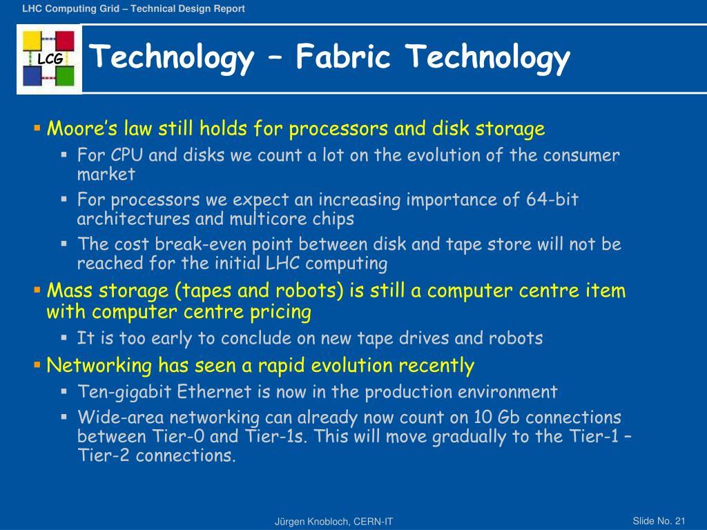 Technology – Fabric Technology