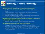technology fabric technology