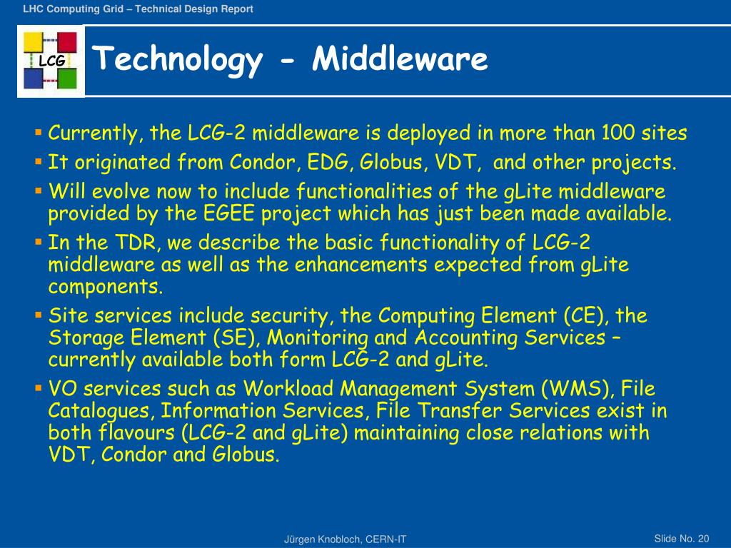 Technology - Middleware
