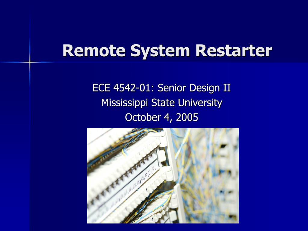 remote system restarter l.
