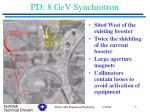 pd 8 gev synchrotron