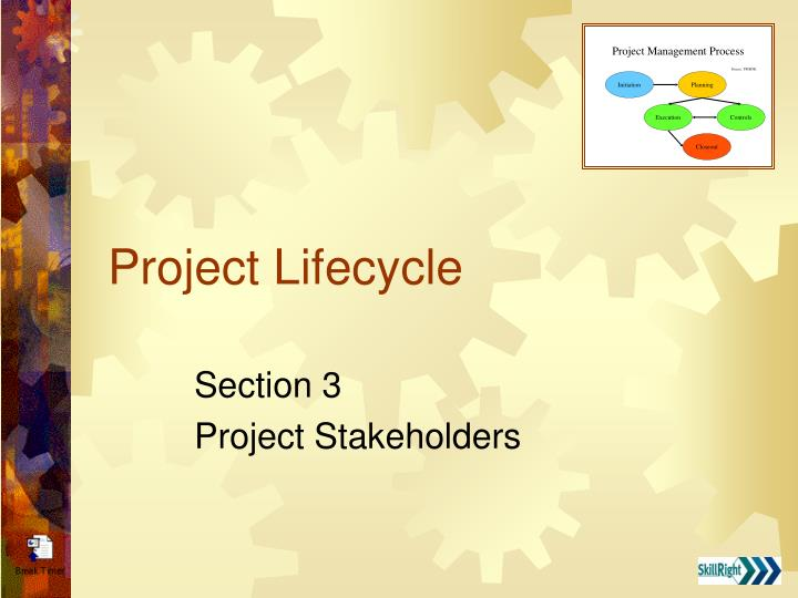 project lifecycle n.