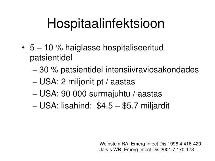 Hospitaalinfektsioon