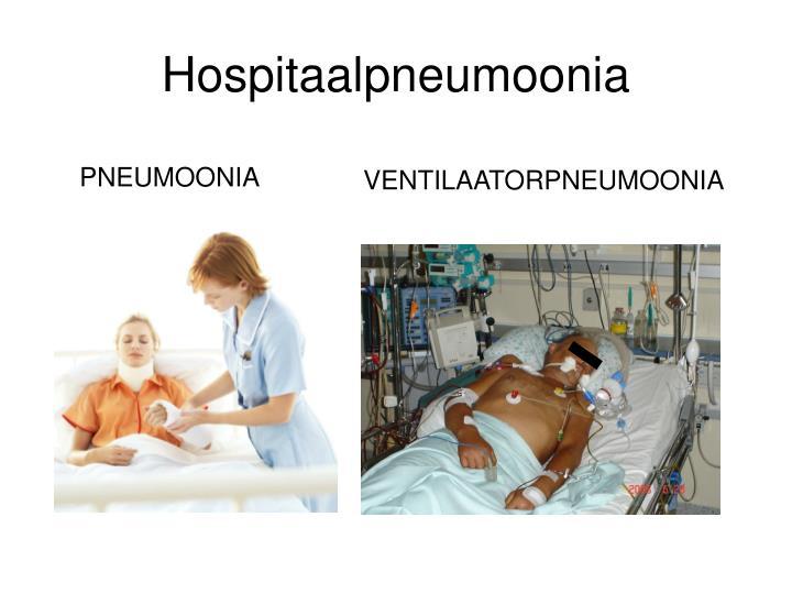 Hospitaalpneumoonia