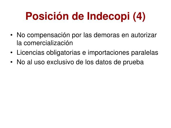Posición de Indecopi (4)