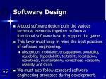 software design