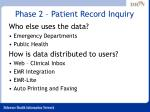 phase 2 patient record inquiry17