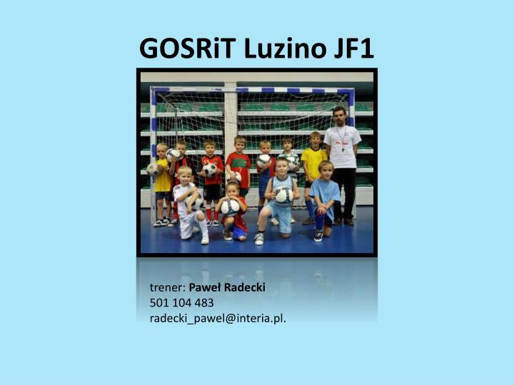 GOSRiT Luzino JF1