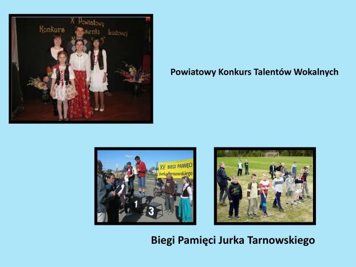 Powiatowy Konkurs Talentów Wokalnych