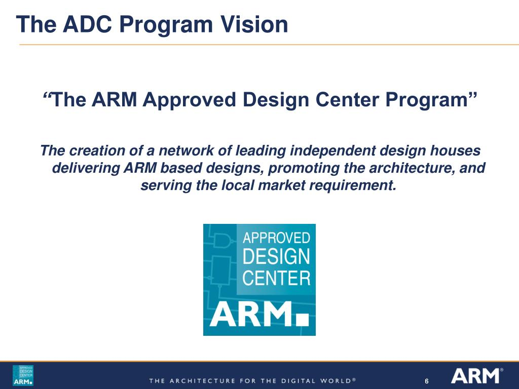 The ADC Program Vision
