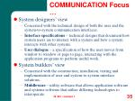 communication focus35