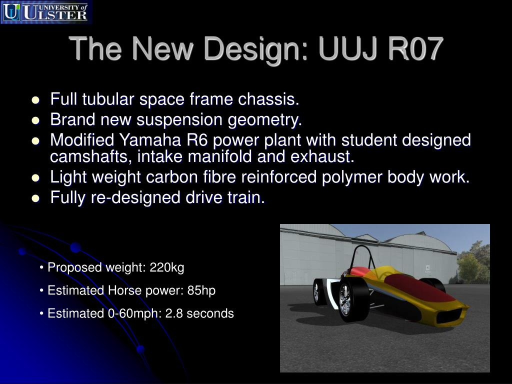 The New Design: UUJ R07