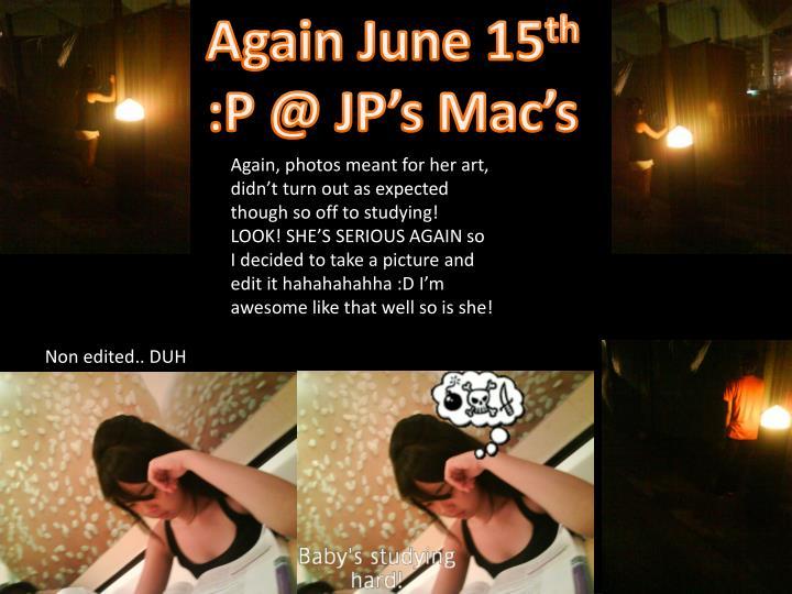 Again June 15