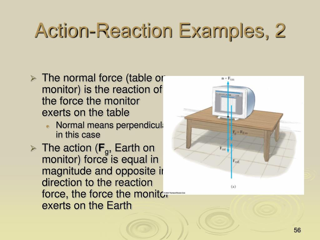 Action-Reaction Examples, 2