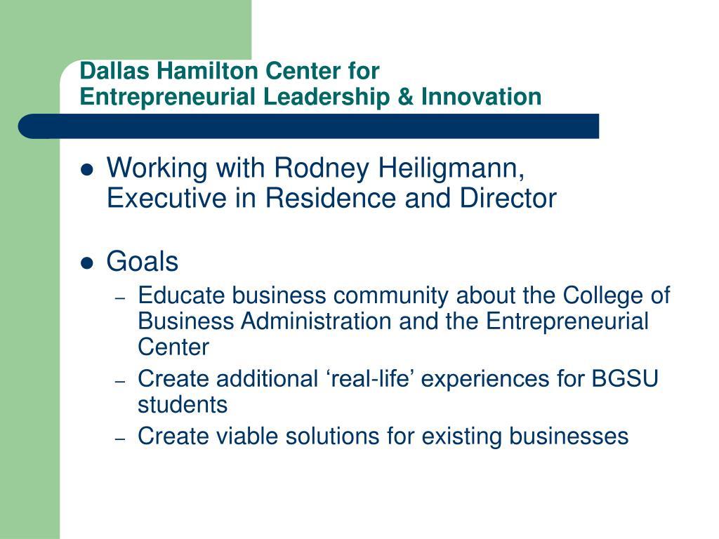 Dallas Hamilton Center for