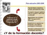 plan educativo 2002 2006