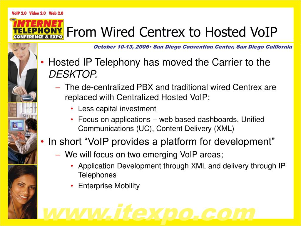 From Wired Centrex to Hosted VoIP