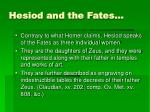 hesiod and the fates