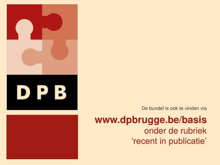 www.dpbrugge.be/basis