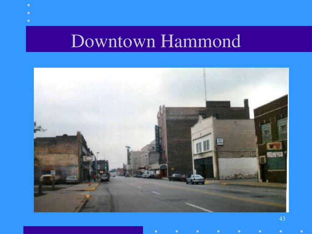 Downtown Hammond