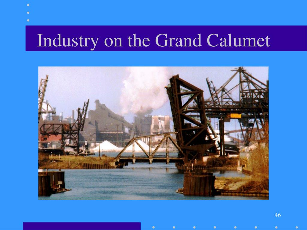 Industry on the Grand Calumet