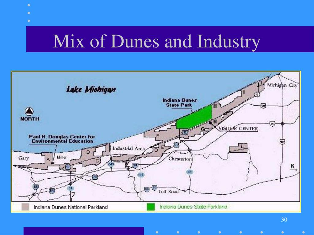 Mix of Dunes and Industry