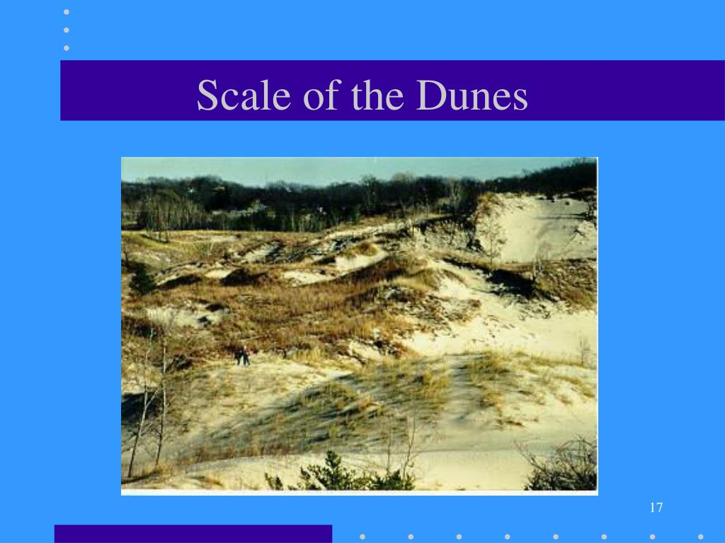 Scale of the Dunes