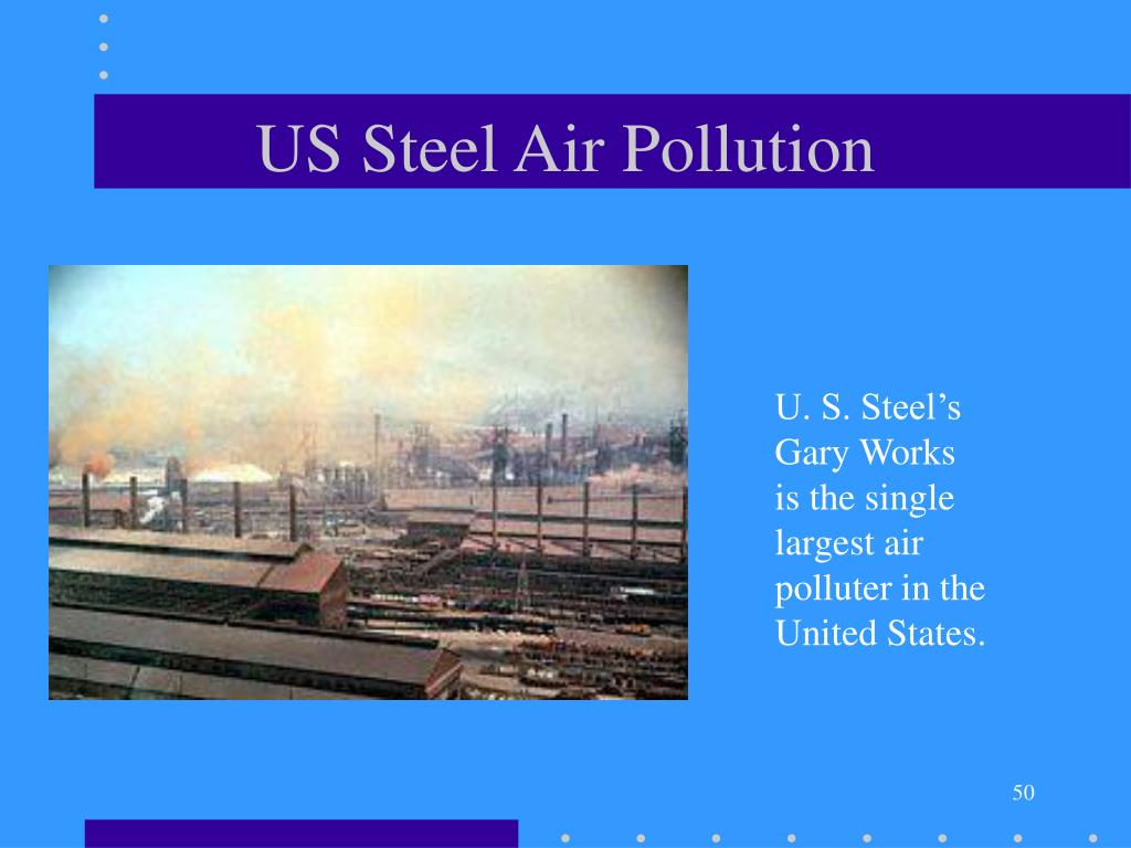 US Steel Air Pollution