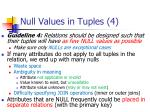 null values in tuples 4