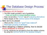 the database design process4