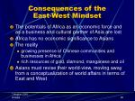 consequences of the east west mindset25