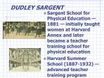 dudley sargent18