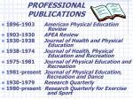 professional publications