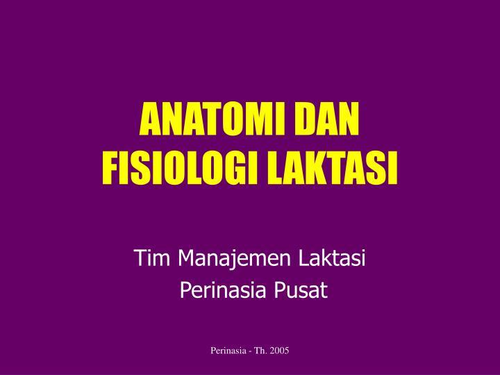 anatomi dan fisiologi laktasi n.
