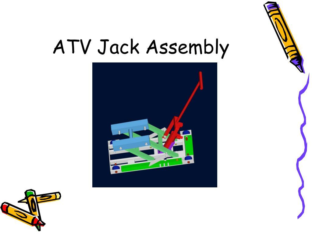 ATV Jack Assembly
