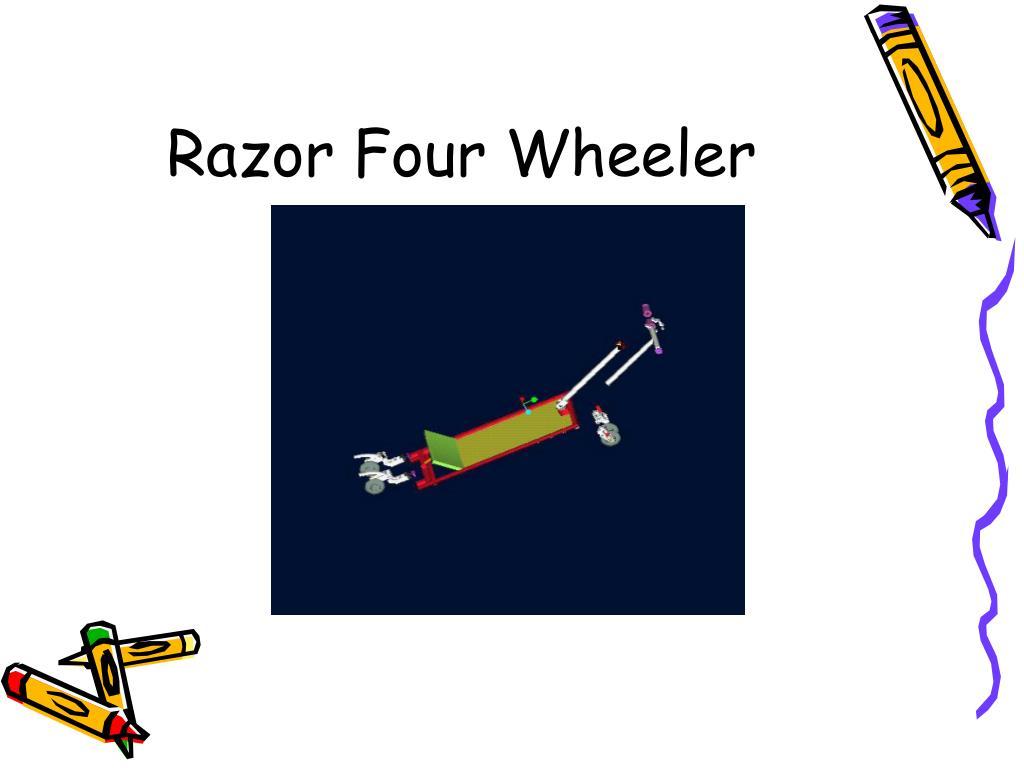 Razor Four Wheeler