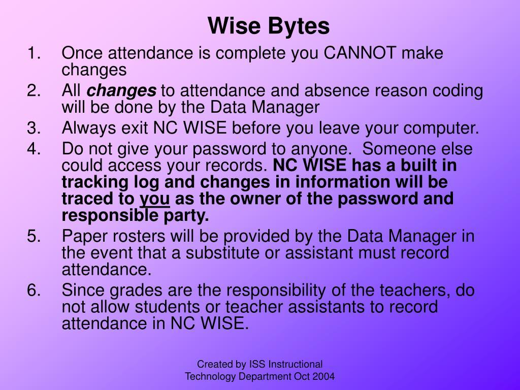 Wise Bytes