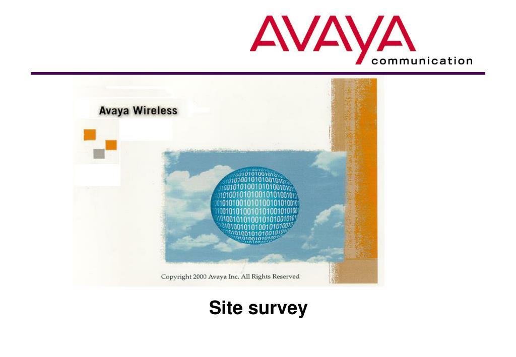 site survey l.