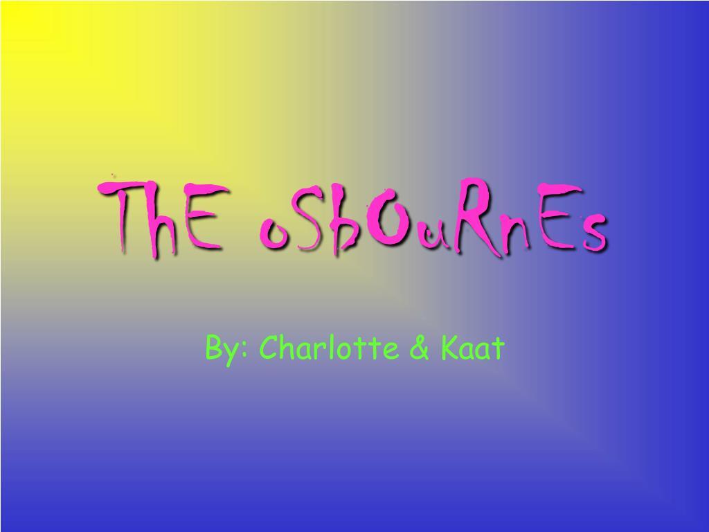 the osbournes l.