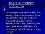 tumor protection dr brizel no1