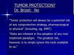 tumor protection dr brizel no2