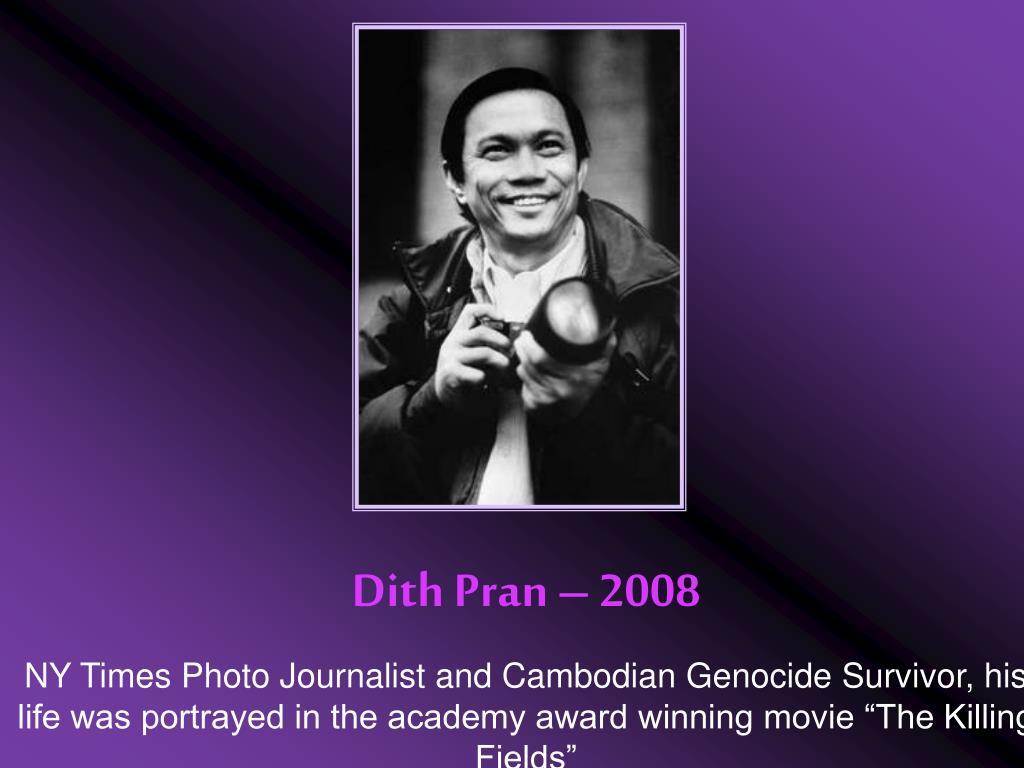 Dith Pran – 2008
