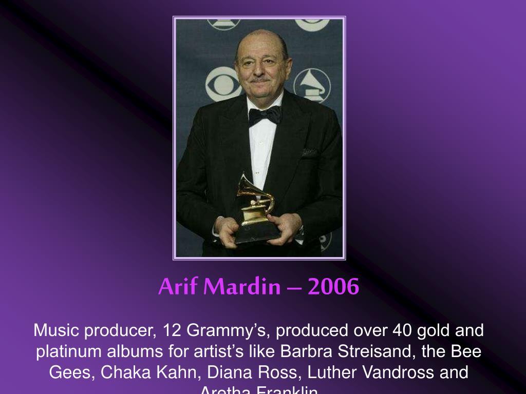Arif Mardin – 2006