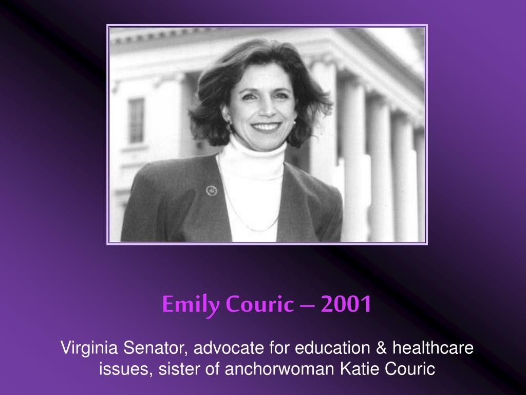 Emily Couric – 2001